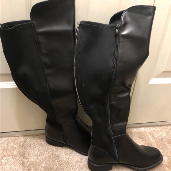 Knee Wide Calf Boots 8w | Poshmark